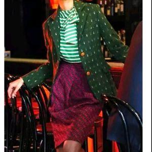 Anthropology Eva Franco S2 wool skirt